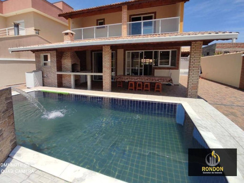 Casa Com 3 Dormitórios À Venda, 268 M² Por R$ 950.000,00 - Jardim Guacyra - Itanhaém/sp - Ca1421