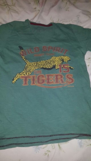 Remera Rever Pass Talle M Rugby The 15 Tigers