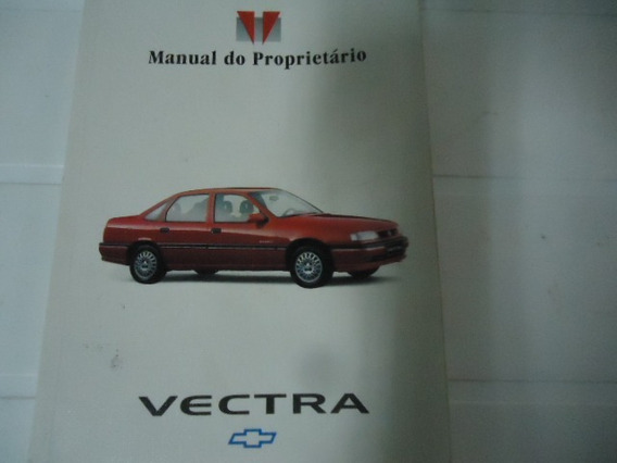 Manual Proprietário Original Vectra 1995 Usado