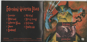 Cd Entombed 1993 Wolwerine Blues Importado Original Encarte