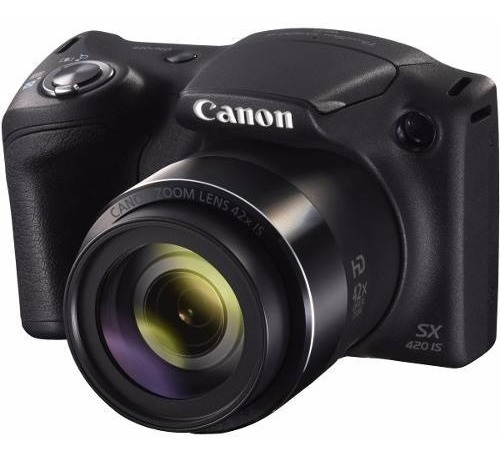 Câmera Profissional Canon Dslr Powershot Sx420 Preto