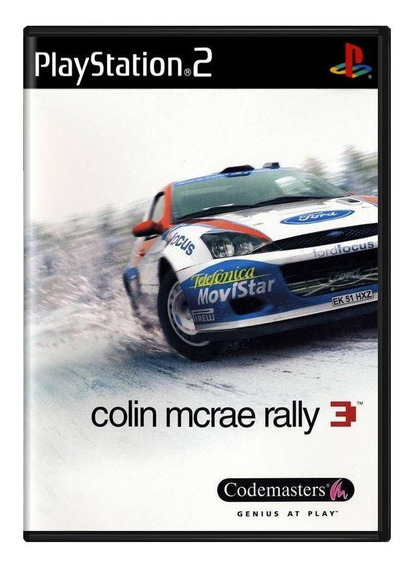Colin Mcrae Rally 3 Ps2 Mídia Físico Pronta Entrega