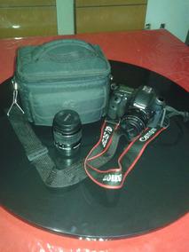 Camera Canon Eos 7d Com Duas Lentes - 50 Mm E 18/55mm