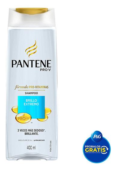 Shampoo Pantene Pro-v Brillo Extremo 400 Ml.