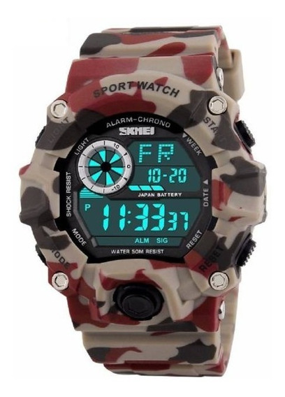 Relógio Masculino Militar Digital Esportivo Prova D