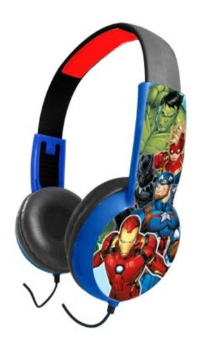 Audifono De Niño Marvel Avengers 1 Plug - Revogames