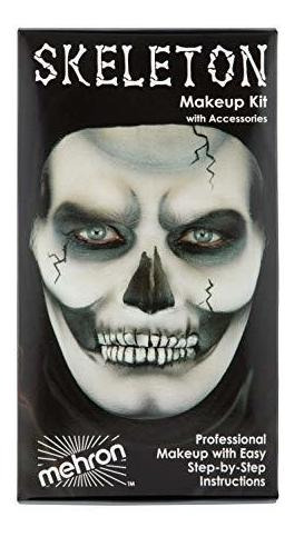 Esqueleto Kit De Character De Maquillaje