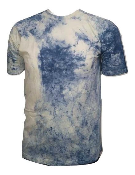 Kit 5 Camisas Plus Size Tie Dye Sortida 100% Algodão