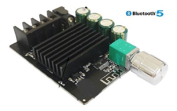 Placa Amplificador 2.0 200w Rms Bluetooth 5.0 Integrado