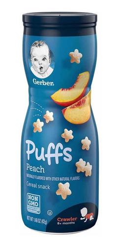 Imagen 1 de 1 de Gerber Puffs  Snack Para Bebe