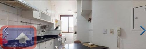 Imagem 1 de 18 de Apartamento 2 Dormitórios Com 1 Suíte E 1 Vaga No Centro - 16395