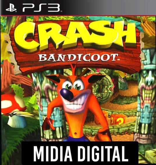 Crash Bandicoot 1 - Ps1 Classic - Ps3