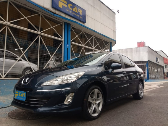 Peugeot 408 Feline 2012 Top Teto,automatico,carro Novo!
