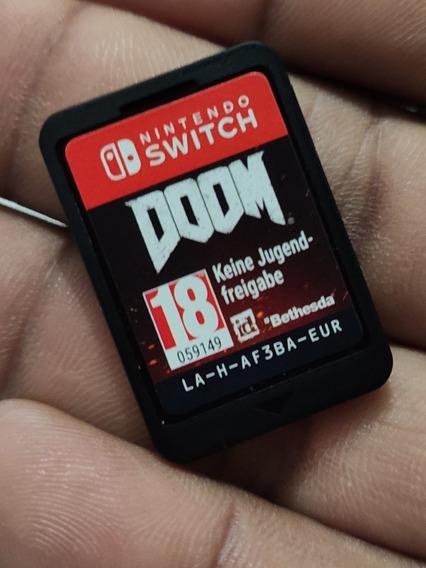 Jogo Doom Nintendo Switch Usado Impecável