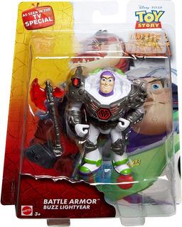 Toy Story Buzz Battle Armor Edicion Especial De Tv Mattel