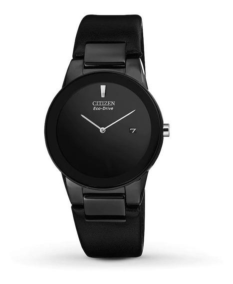 Reloj Citizen Hombre Eco Drive Minimalista Black Au106507e