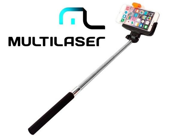 Bastão De Selfie Bluetooth Multilaser Ac271 Monopod P/ Foto