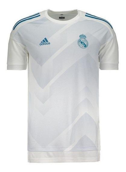 Camisa Real Madrid Preshi adidas Masculina Original Promoção