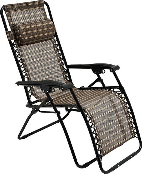 Cadeira Sevilha Reclinável, Praia, Piscina, 21 Posições Mor