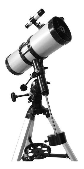 Telescópio Newtoniano Equatorial 1400x150mm Lua Saturno Astr