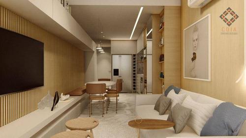 Imagem 1 de 13 de Apartamento Com 1 Dormitório À Venda, 90 M² Por R$ 2.100.000,00 - Vila Nova Conceição - São Paulo/sp - Ap56005