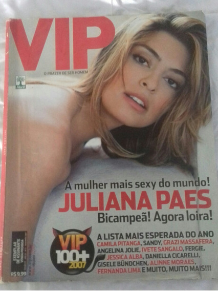 Revista Vip Juliana Paes.