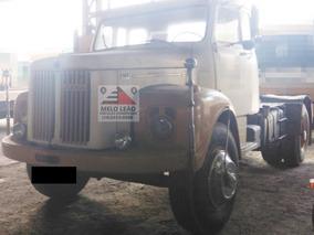 Scania L-110 - 74/74 - Cavalo Toco, Bem Conservado