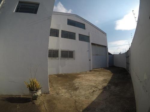 Galpão Para Alugar, 677 M² Por R$ 6.000,00/mês - Jardim São Fernando - Santa Bárbara D'oeste/sp - Ga0216