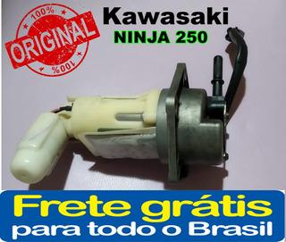 Bomba De Combustível Da Moto Kawasaki Ninja 250 Original