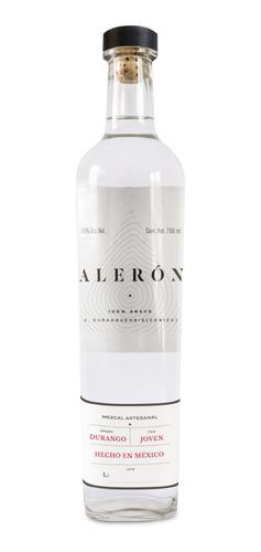 Imagen 1 de 6 de Mezcal Alerón - Agave Cenizo - 750 Ml  |  1 Botella