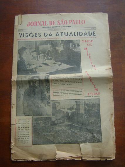 Jornal De São Paulo Nº 636 / 1947 Antigo