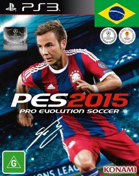 Pes 15 Ps3 2015 Pro Evolution Soccer Cod Psn Envio Imediato