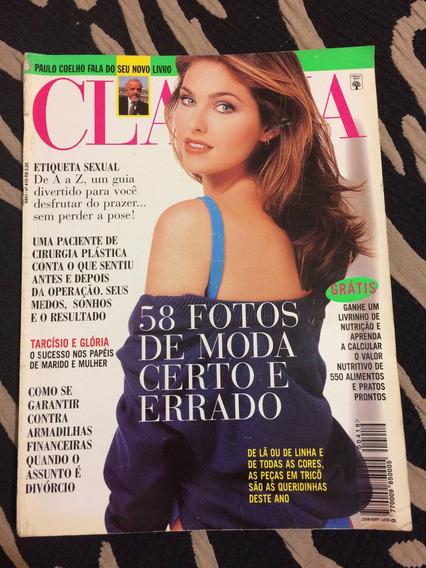 Revista Claudia 08/96 Aline Moreira Tarcísio E Gloria Meneze