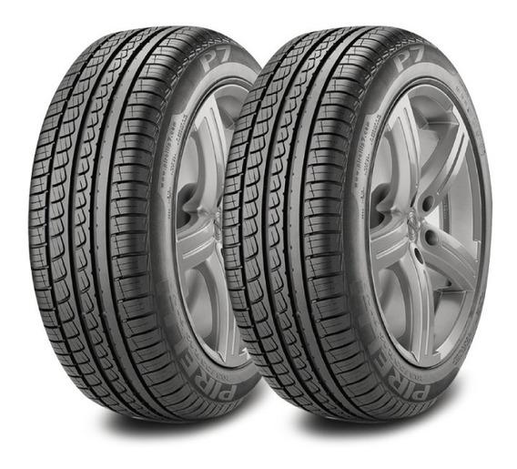 Kit X2 Pirelli 195/60/15 H P7 Corolla-focus Ahora18