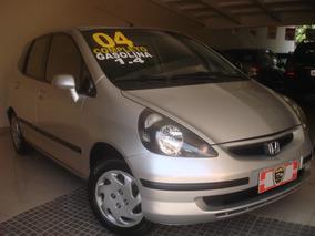 Honda Fit 1.4 Lx Completo Prata 2004 !!! Ótimo Estado