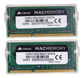 Kit Mac Corsair 16gb 2x8gb Ddr3 - 1333 Mhz Mac Book E iMac