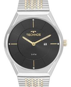 Relógio Technos Feminino Prata Gl15as/5p