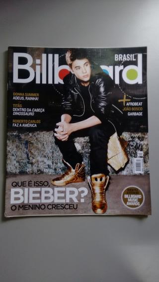 Revista Billboard 31 Justin Bieber Roberto Carlos Titãs 050