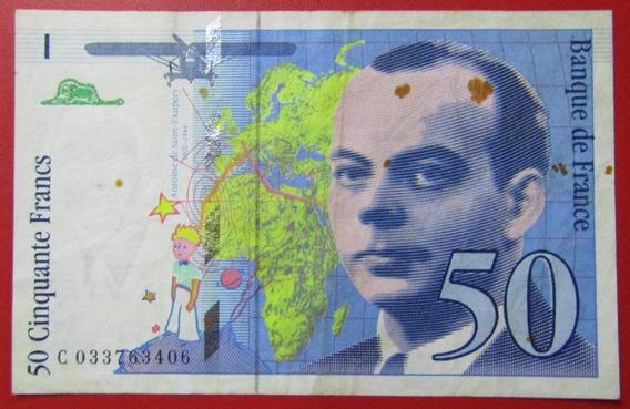 Francia Billete 50 Francos Vf+ 1997 Pick 157ad