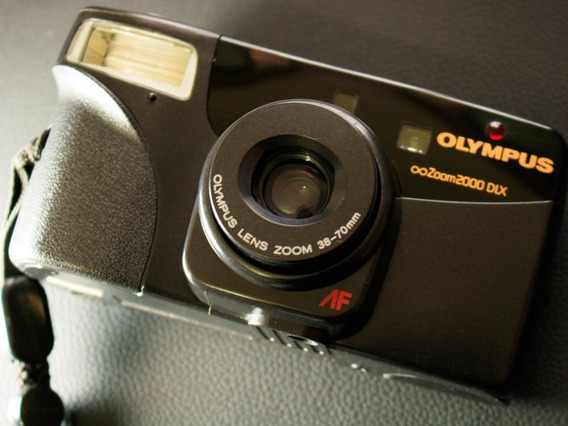 Câmera ( Revisada ) Fotográfica Olympus Zoom2000 Dlx
