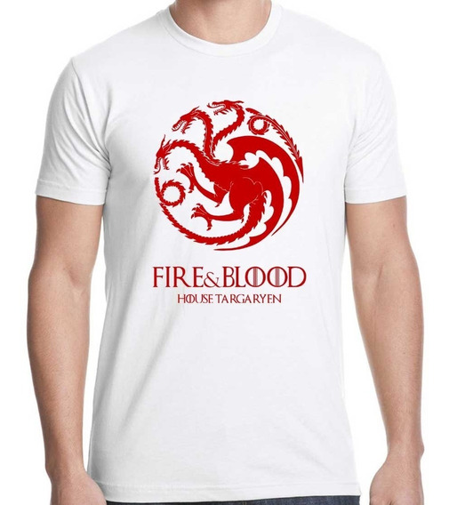 Remera Game Of Thrones - House Targaryen - Calidad Premium