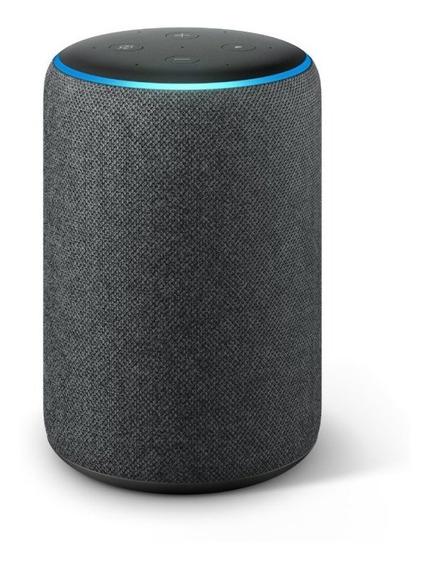 Echo Amazon Smart Speaker Alexa 3 Geracao Em Portugues Preta