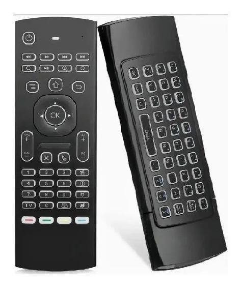 Controle Air Mouse C/ Sensor E Teclado Com 2 Pilhas Le-7715
