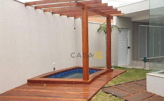 Casa Com 3 Dormitórios À Venda, 141 M² Por R$ 600.000 - Parque Novo Mundo - Americana/sp - Ca0575