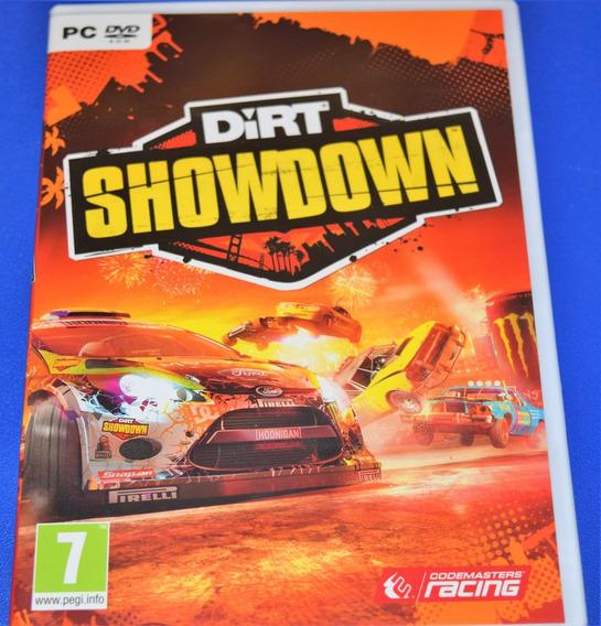 Dirt Showdown Pc Dvd Mídia Física (sem Key)