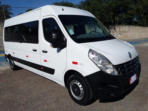 Renault Master 2017 L3h2 Minibus16 Lug R$ 130.000 Km 102.000