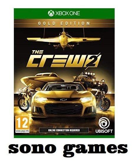 The Crew 2 Gold Edition Xbox One + Brinde - Midia Digital