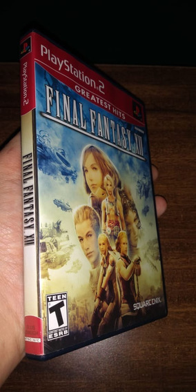 Final Fantasy Xii Ps2 Original E Completo