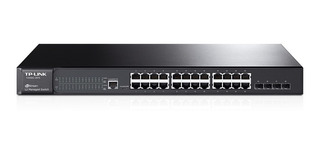 Switch Administrable Tp Link Sg 3424 24 Port Giga Rack Cuota