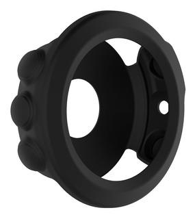 Capa Case Prote Silicone Relógio Garmin Fenix 5x + Película